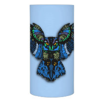 Blue Owl Flameless Candle