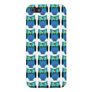 Blue Owl Hoot Iphone 5 Case