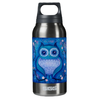 blue owl insulated water bottle