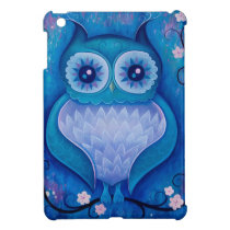 blue owl iPad mini cover