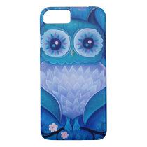 blue owl iPhone 8/7 case