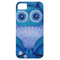 blue owl iPhone SE/5/5s case