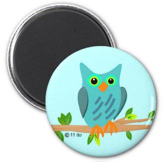 Blue Owl Magnet