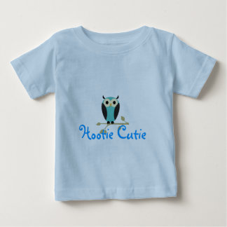 Blue Owl On Limb Baby T-Shirt