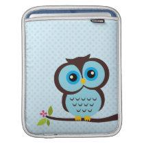 Blue Owl Sleeve For iPads