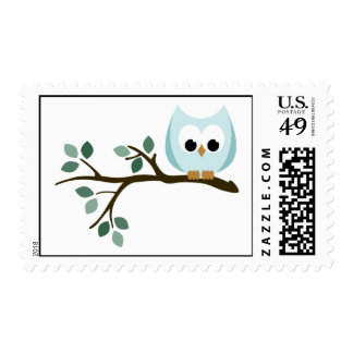 Blue Owl Stamps