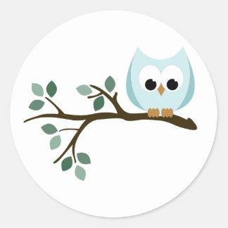 Blue Owl Stickers