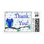 Blue Owl Thank You Postage