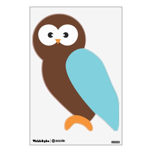 Blue Owl Wall Skin
