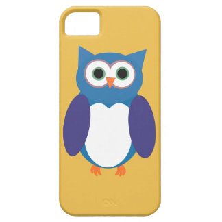 Blue Owly iPhone 5 Cases