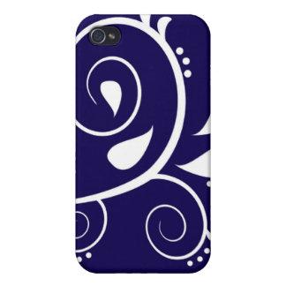 Blue P iPhone 4/4S Case