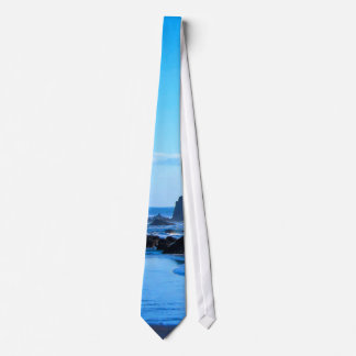 Blue Pacific coast Neck Tie