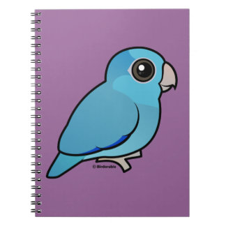 Blue Pacific Parrotlet Notebook