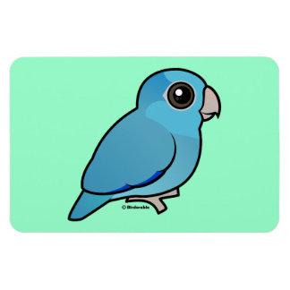 Blue Pacific Parrotlet Vinyl Magnet
