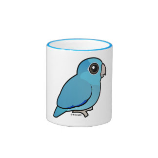 Blue Pacific Parrotlet Ringer Mug