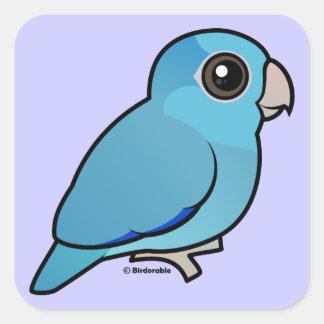 Blue Pacific Parrotlet Stickers