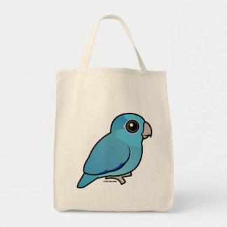 Blue Pacific Parrotlet Tote Bag