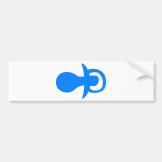 Blue pacifier. bumper stickers