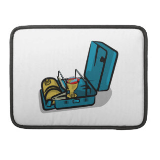 Blue Packaway 8r Vintage Camp Stove MacBook Pro Sleeve