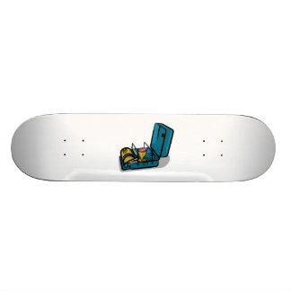 Blue Packaway 8r Vintage Camp Stove Skateboard Deck
