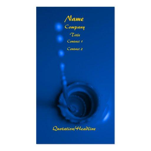 Blue Paint Business Card