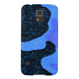 blue Paint Galaxy S5 Cover