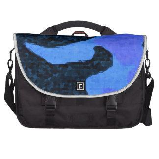 blue Paint Commuter Bags