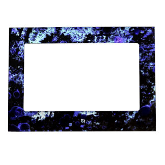 Blue Paint Magnetic Photo Frame