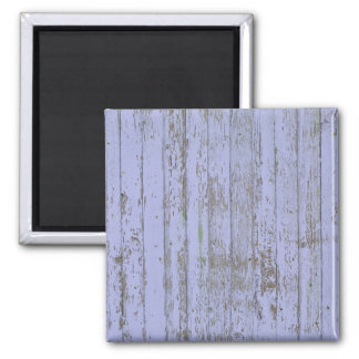 Blue paint old wooden wall magnet