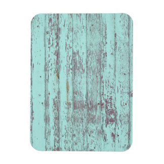 Blue paint old wooden wall vinyl magnets