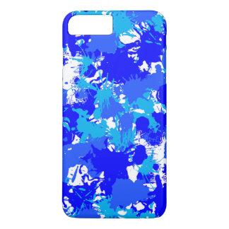 Blue Paint Splatter iPhone 8 Plus/7 Plus Case