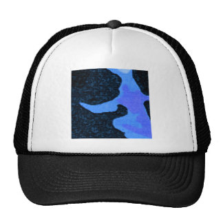 blue Paint Trucker Hat