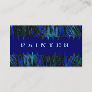 Paint Tech Business Cards Templates Zazzle - Painter business card template