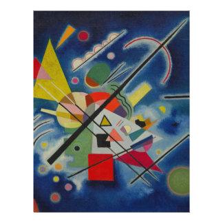 Blue Painting by Kandinsky Letterhead