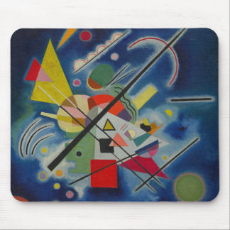 Blue Painting by Kandinsky Mouse Pad