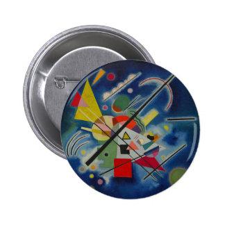 Blue Painting by Kandinsky Pinback Button
