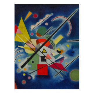 Blue Painting by Kandinsky Postcard