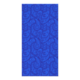 Blue Paisley Card