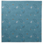 Blue Paisley Cloth Napkin