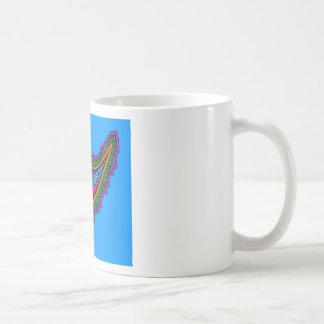Blue Paisley Coffee Mug