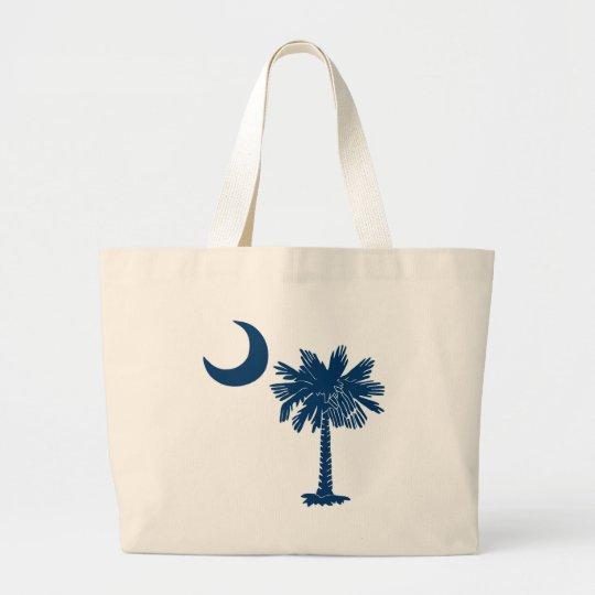 Blue Palmetto Bag