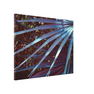Blue Palmetto Dream Canvas Print