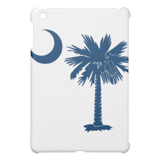 Blue Palmetto Moon iPad Case