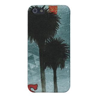 Blue Palms iPhone 5 Case
