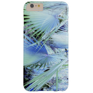 Blue Palms Phone Case Barely There iPhone 6 Plus Case