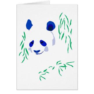 Blue Panda Card