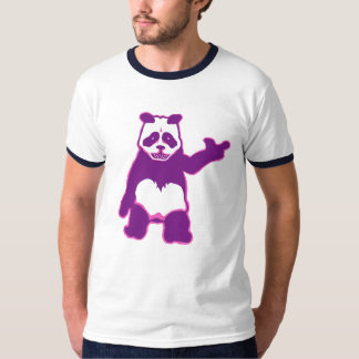 BLUE Panda Man T-Shirt