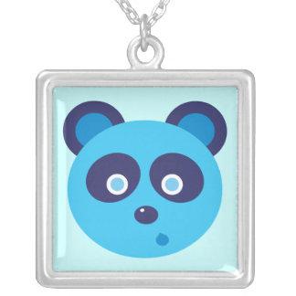 Blue Panda Necklace