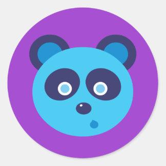 Blue Panda Sticker