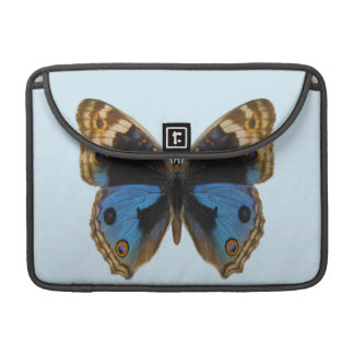 Blue Pansy Butterfly MacBook Pro Sleeve